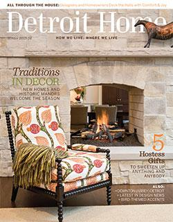 Featured in Detroit Home Magazine: Winter 2013