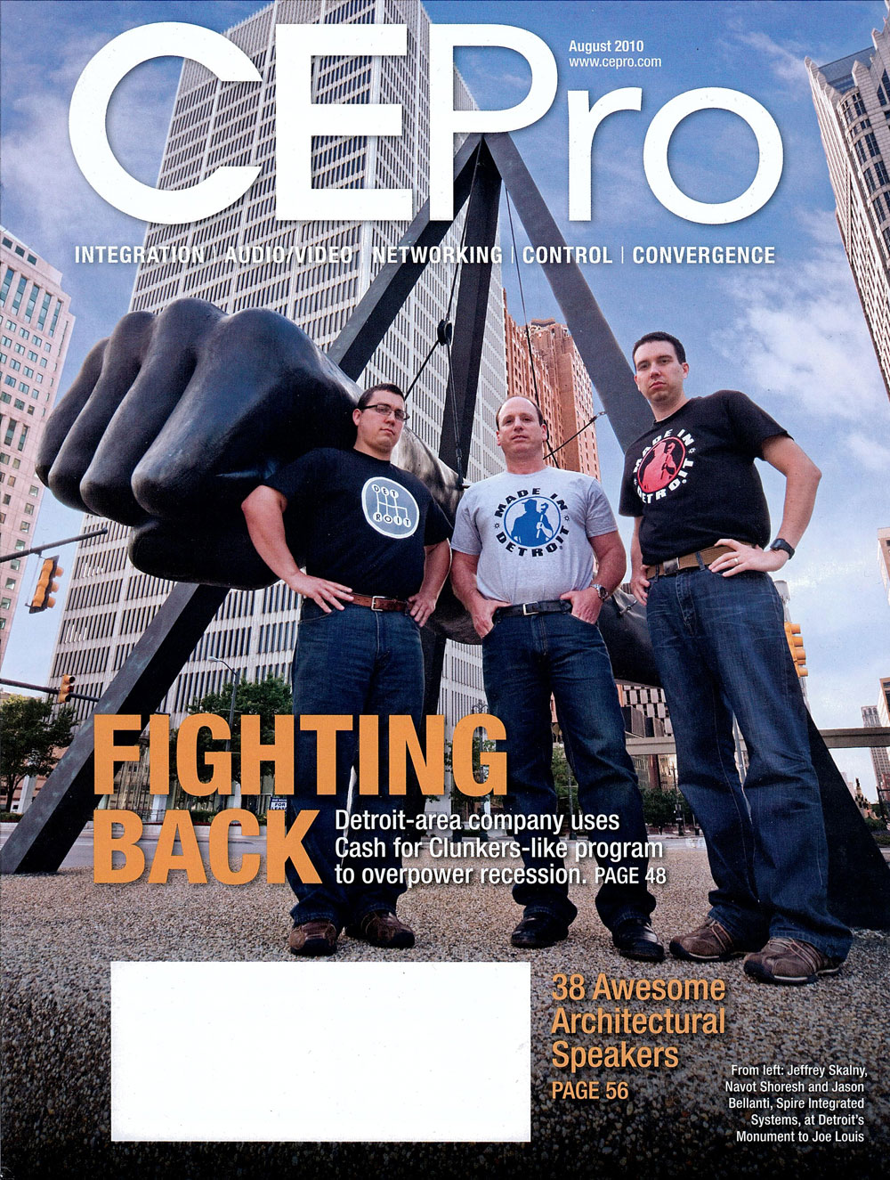Featured in CEPro Magazine: August 2010