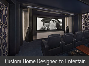 Custom Home Designed to Entertain