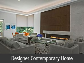 designer contemporary home icon