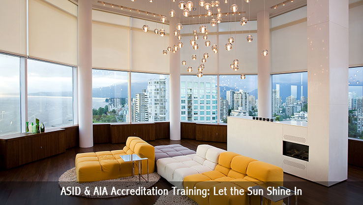 ASID & AIA Accreditation Training: Let the Sun Shine In