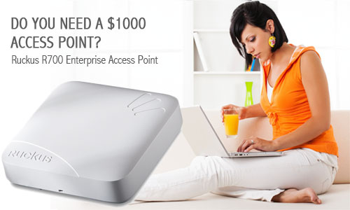 Should you spend $1000 on an Access Point? Ruckus R700