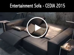 The Gramercy By Cineak - Living-Room Entertainment Sofa