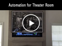 Automation for Theater Room