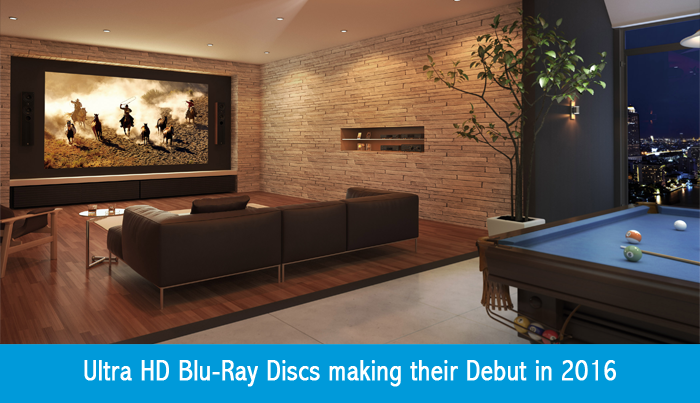 Ultra HD Blu-Ray Discs