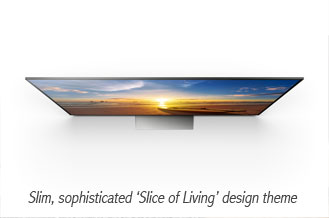 Sony 4K HDR TV Slim Design