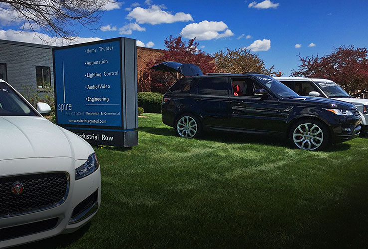 Integrator Spices Up Anniversary Event with Jaguar, Land Rover Vehicles
