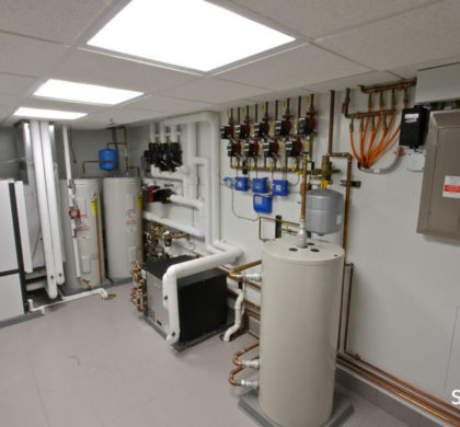 LEED Platinum Certified House: Each circuit in the residence is monitored by a central energy monitoring system, so the exact amount of energy used by the various systems in the home can be quantified and measured. The same energy monitoring system also measures how much energy is given back by the solar panel.