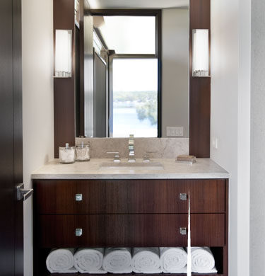 Award Winning Design Home: Bathroom Lighting