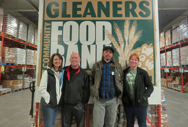 Detroit Food Bank Volunteer