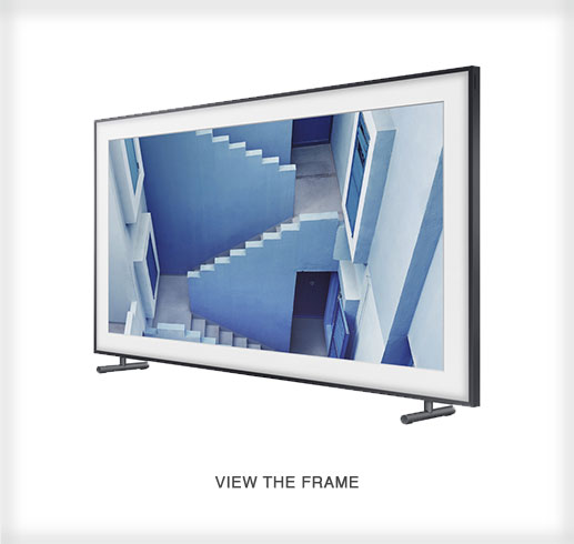 The Frame by Samsung - a 4K UHD TV Angle