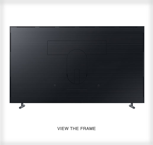 The Frame by Samsung - a 4K UHD TV Back