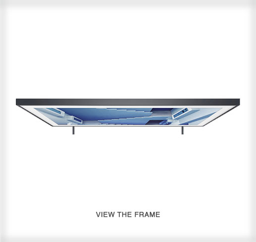 The Frame by Samsung - a 4K UHD TV Top