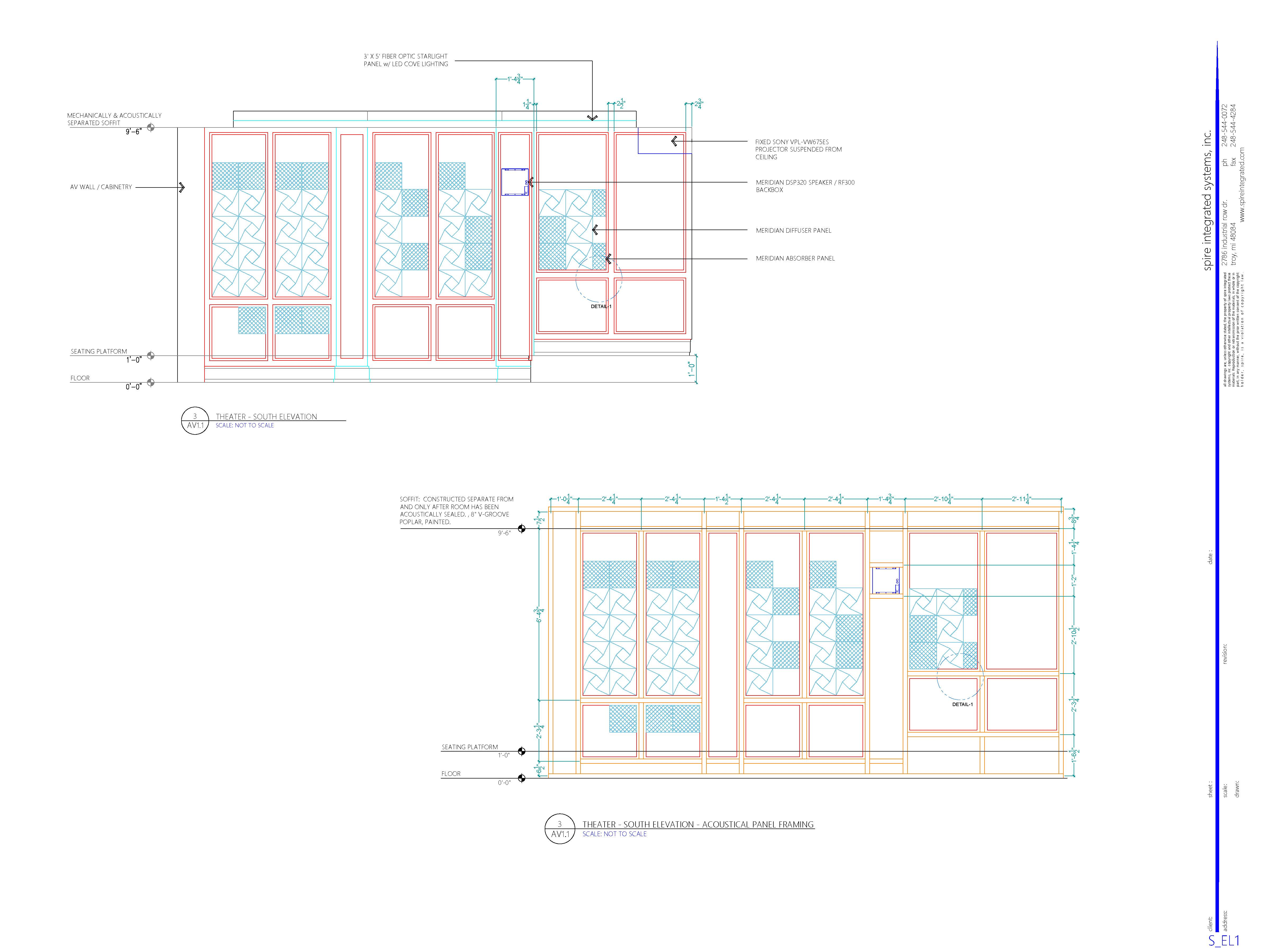Design Engineering Spire Integrated Systems Theater Lighting Diagram Examples