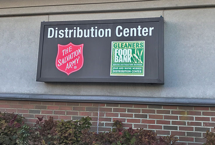 Spire Donates Time at Gleaners Food Bank