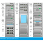 Triple Component Rack Drawing