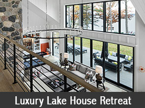 Luxury Lake House Retreat