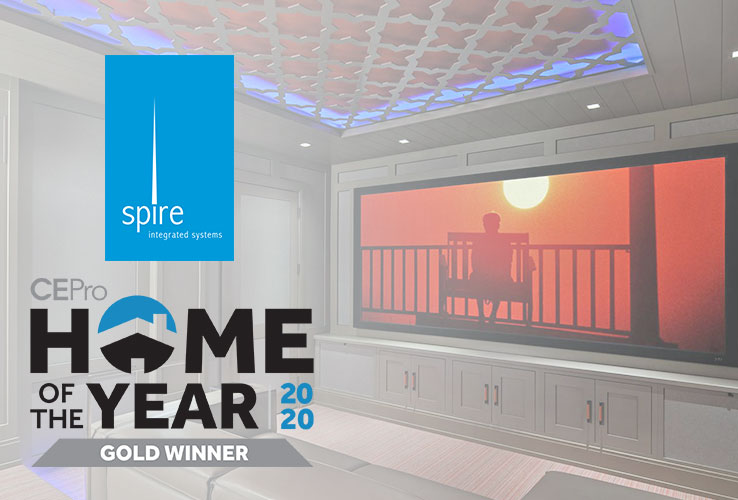 Spire Wins  CE Pro 2020 Home of the Year Award in 3 Categories