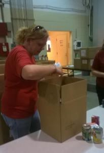 Erika packing boxes