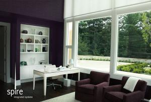 Office with Lutron Shading